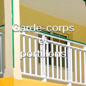 Garde-corps et portillons de garde-corps